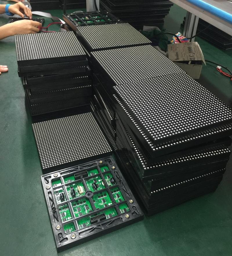 Outdoor P5mm SMD LED Display Module IP65 Waterproof