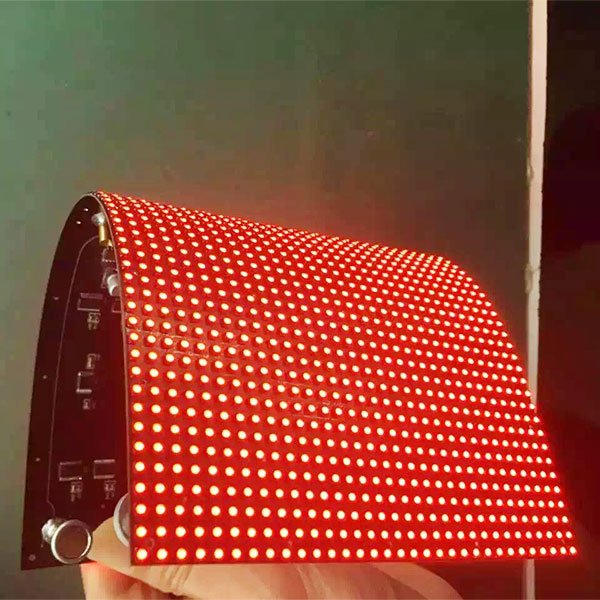 P10mm Soft Flexible LED Display