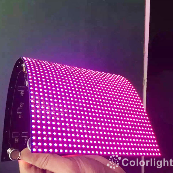 P4mm Soft Flexible LED Display