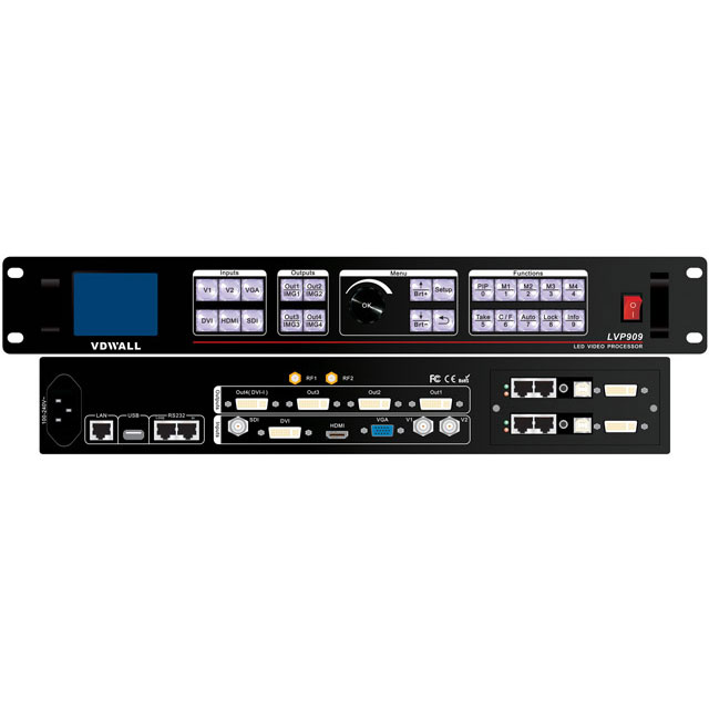 VDWALL LVP909 LED Video Processor