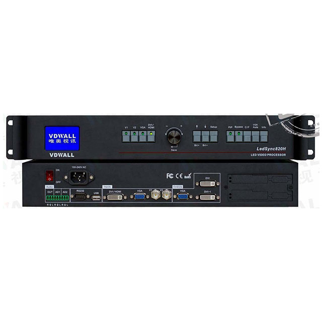 VDWALL LedSync820H LED Video Processor