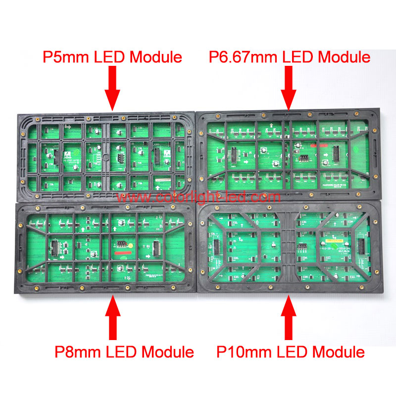 320mmx160mm P6.67mm Standard Size LED Display Module