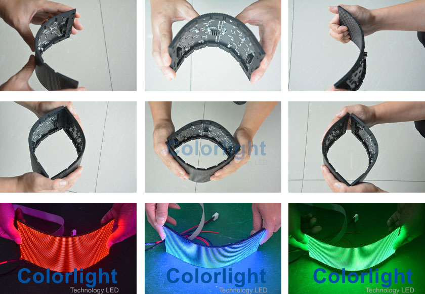 P3mm Soft LED display Module