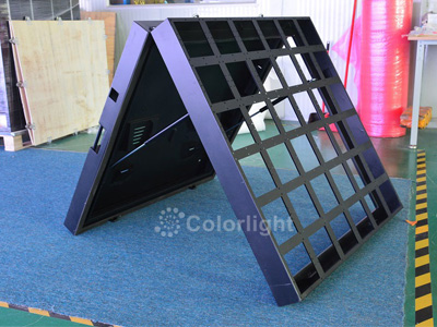 Latest 960x960mm Front Open LED Display Cabinet